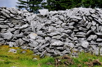 Ancient Stone Walls by Dave  Byrne