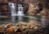 Waterfall country South Wales by Leighton Collins