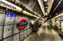 Underground London Art von David Pyatt