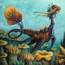 sea dinosaur by sushy