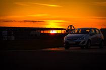 Sundown on a Airport von aseifert