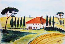 Toscana-Frühling von Christine Huwer