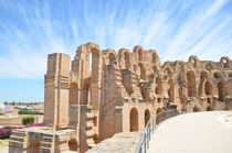Roman Amphitheatre by Malcolm Snook