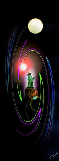 'Freiheitsstatue - Statue of Liberty' von Walter Zettl