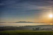 Arran over the mist by Sam Smith