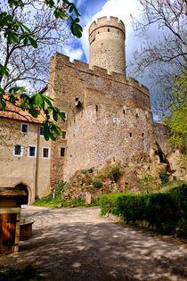 Burg Gnandstein by Jörg Hoffmann