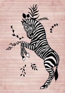 Zebra von Sybille Sterk