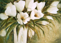 Weiße Tulpen  -  White Tulips by Chris Berger