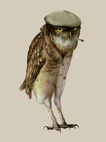 trendy owl von Katerina Kalinich
