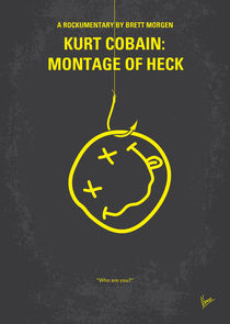No448 My Montage of Heck minimal movie poster by chungkong