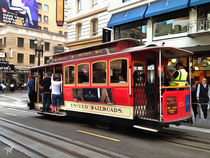 Tram (San Francisco) by Wolfgang Pfensig