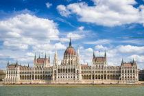 Budapest Ungarn Parlament Paramentsgebäude by Matthias Hauser
