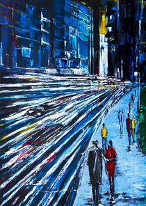 'Abend in der City' by Eberhard Schmidt-Dranske