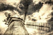Upminster Windmill Vintage von David Pyatt