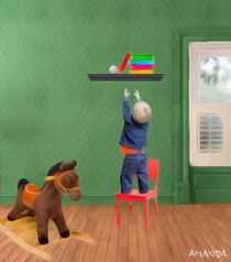 Toddler Room by Amanda Jones