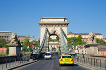 Kettenbrücke Budapest Ungarn by Matthias Hauser