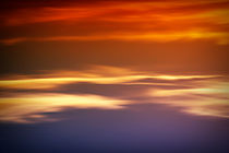 Orangener Himmel by Bastian  Kienitz