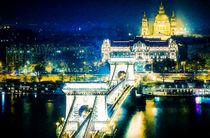 The Szechenyi Chain Bridge von lanjee chee