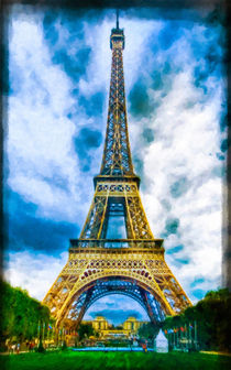 Eiffel Tower by lanjee chee