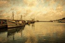 Newlyn Trawlers  von Rob Hawkins
