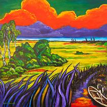 'Landschaft bei Worpswede' by Eberhard Schmidt-Dranske