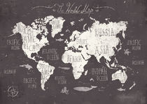 The World Map von Mike Koubou