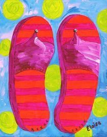 Summer Flip Flops von eloiseart