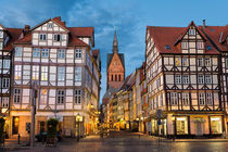 Old town of Hannover, Germany von Michael Abid