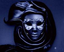 Maske in blau von Thea Ulrich
