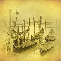 Vintage image of Venice, Italy von Konstantin Kalishko