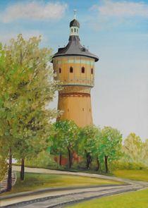 Wasserturm Nord in Halle by Barbara Kaiser