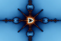 Transformed Mandelbrot Division No. 2 von Mark Eggleston