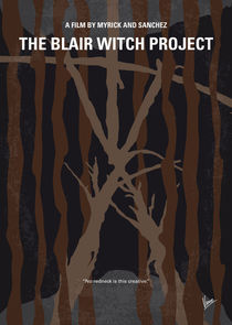 No476 My The Blair Witch Project minimal movie poster by chungkong
