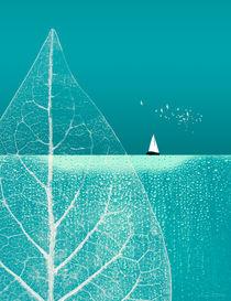 Ocean Wonderland II Portrait von Pia Schneider