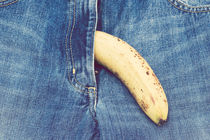 Banana in denim von lsdpix