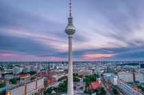 Berlin im Sonnenuntergang I von elbvue