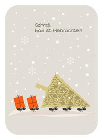 schnell, bald ist Weihnachten!