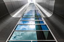 Abstrakte Architektur V von elbvue