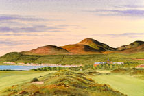 Royal County Down Golf Course 9th hole von bill holkham