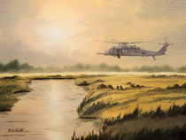 Pave Hawk Helicopter by bill holkham