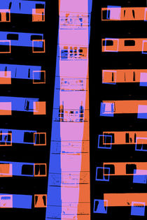City abstract 2 by Steve Ball