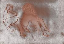 Figure Study x 2  by Elizabetha Fox