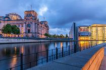 Reichstag an der Spree II von elbvue