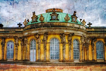 Schloss Sans Souci in Potsdam by freedom-of-art