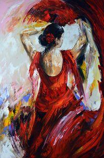 Flamenco von Gena Theheartofart