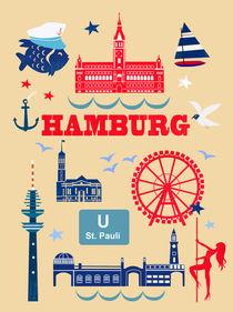 Hamburg Icons von Elisandra Sevenstar