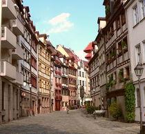 Weissgerber Gasse in Nürnberg.... von Thea Ulrich