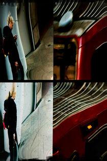 Bahnsteigszenen  by Bastian  Kienitz