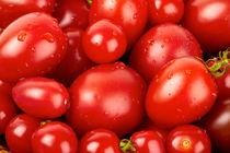 Hintergrund aus Toamten - Background made of tomatoes by Thomas Klee