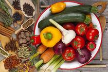 Kräuter und Gemüseküche 2 - Herbs and vegetables Kitchen 2 von Thomas Klee